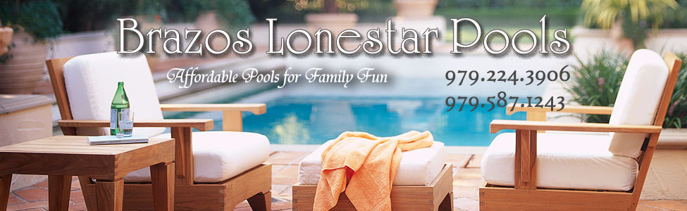 Brazos Lonestar Pools banner