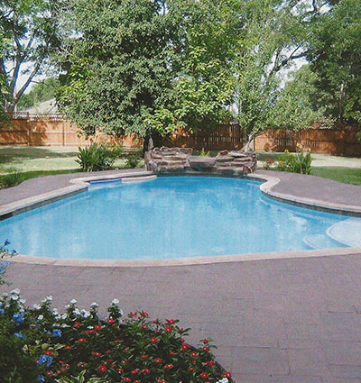 Design and build swimming pool slide waterfall spa - How to build a swimming pool slide ...